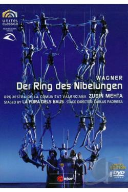 Der Ring des Nibelungen DVD Cover Art