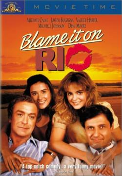 Blame It On Rio DVD Cover Art