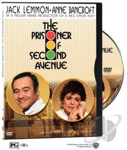 Prisoner Of Second Avenue DVD Cover Art