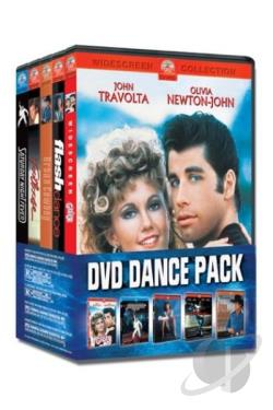Paramount 5-DVD Dance Pack DVD Cover Art