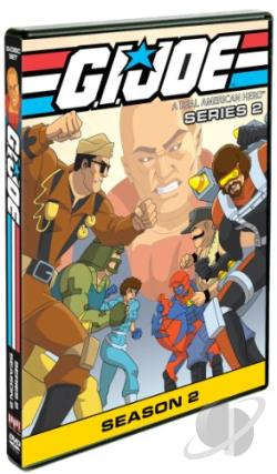 G.I. Joe: A Real American Hero - Series 2, Season 2 DVD Cover Art