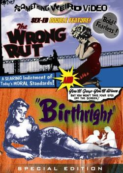Wrong Rut/Birthright DVD Cover Art