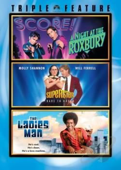 Night At The Roxbury/Superstar/The Ladies Man DVD Cover Art