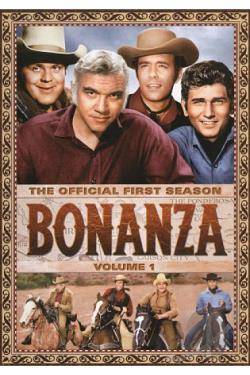 Bonanza: The Official First Season, Vol. 1 DVD Cover Art