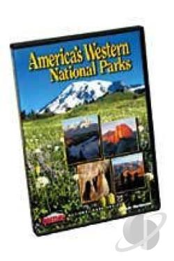 America's Western National Parks DVD Cover Art