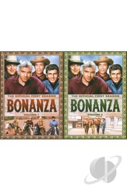 Bonanza: The Official First Season, Vols. 1 and 2 DVD Cover Art
