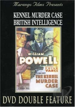 Kennel Murder Case/British Intelligence DVD Cover Art