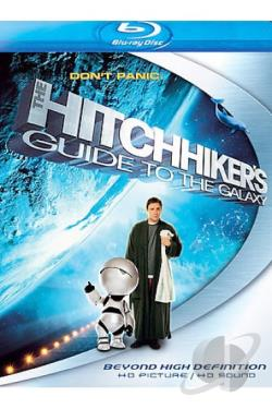 Hitchhiker's Guide to the Galaxy BRAY Cover Art