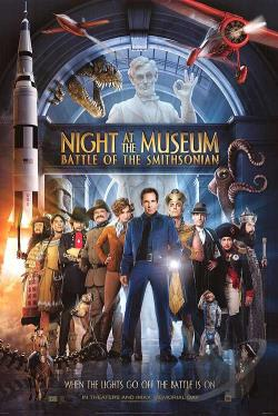 Night at the Museum 2: Battle of the Smithsonian DVD Cover Art