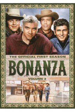 Bonanza: The Official First Season, Vol. 2 DVD Cover Art