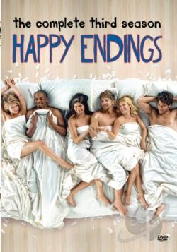 Happy Endings - The Complete Third Season DVD Cover Art