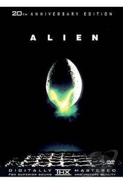 Alien DVD Cover Art