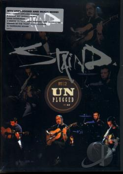 MTV Unplugged - Staind DVD Cover Art