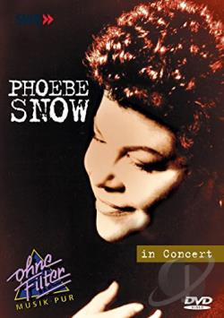 Phoebe Snow - In Concert DVD Cover Art
