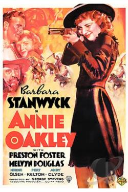Annie Oakley DVD Cover Art