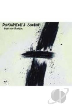 Dokumenta Sonum DVD Cover Art