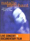 Natalie Merchant: Live In Concert DVD Cover Art