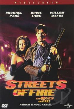 Streets of Fire DVD Cover Art