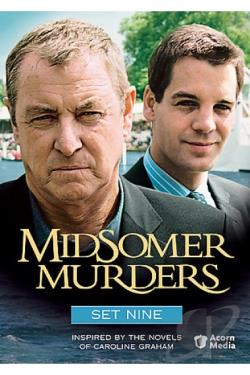 Midsomer Murders - Set 9 DVD Cover Art