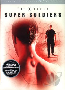 X - Files Mythology - Vol. 4: Super Soldiers DVD Cover Art