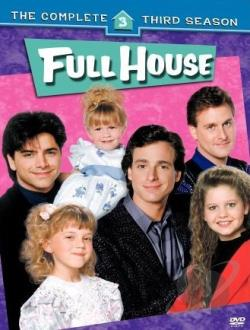 Full House - The Complete Third Season DVD Cover Art