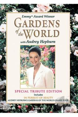 Gardens Of The World With Audrey Hepburn DVD Cover Art