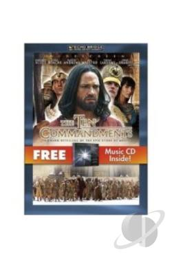 Ten Commandments - The Complete Miniseries DVD Cover Art