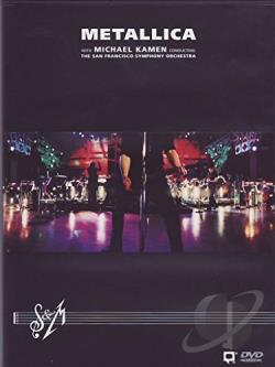 Metallica - S&M with the San Francisco Symphony Orchestra DVD Cover Art