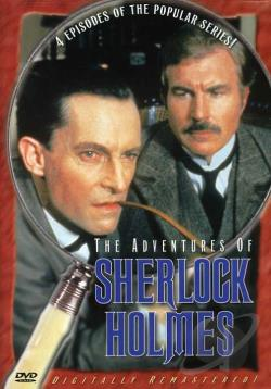 Adventures of Sherlock Holmes - 4 Episodes DVD Cover Art