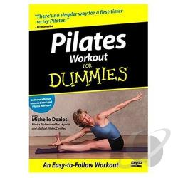 Pilates For Dummies DVD Cover Art
