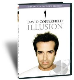 David Copperfield - Illusion DVD Cover Art