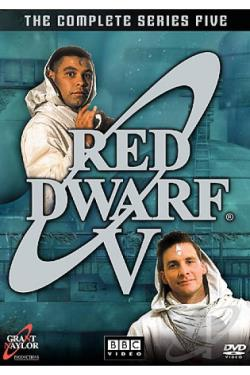 Red Dwarf - Series 5 DVD Cover Art