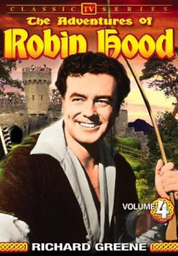 Adventures of Robin Hood - Vol 4 Classic TV Series DVD Cover Art