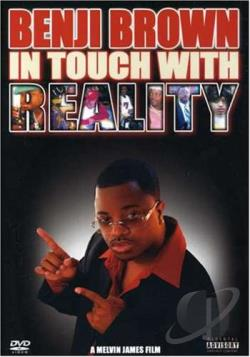Benji Brown - In Touch With Reality DVD Cover Art