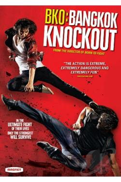 BKO: Bangkok Knockout DVD Cover Art