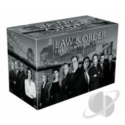 Law & Order - The Complete Series DVD Cover Art