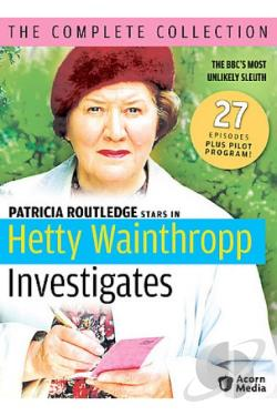 Hetty Wainthropp Investigates - The Complete Collection DVD Cover Art