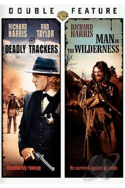 Man In The Wilderness/The Deadly Trackers DVD Cover Art