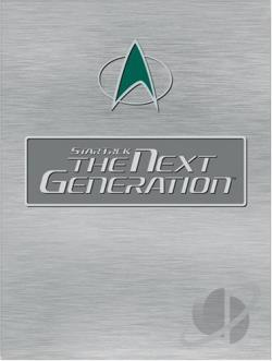 Star Trek: The Next Generation - Season 4 DVD Cover Art