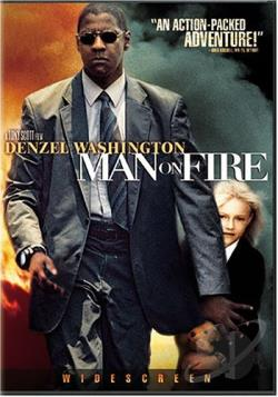 Man on Fire DVD Cover Art