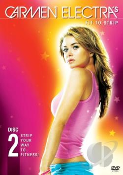 Carmen Electra's Fit to Strip DVD Cover Art