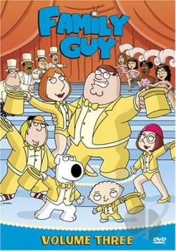 Family Guy - Volume 3 DVD Cover Art
