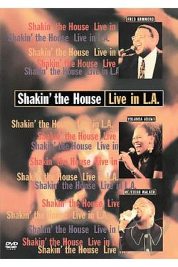 Shakin' the House - Live in L.A. DVD Cover Art