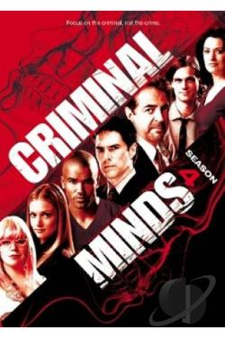 Criminal Minds - The Complete Fourth Season DVD Cover Art