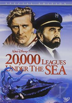20,000 Leagues Under the Sea DVD Cover Art