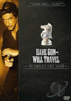 Have Gun Will Travel - The Complete First Season DVD Cover Art
