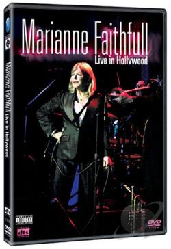 Marianne Faithfull - Live in Hollywood at the Henry Fonda Theater DVD Cover Art