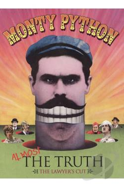 Monty Python: Almost the Truth (The Lawyer's Cut) DVD Cover Art