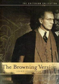 Browning Version DVD Cover Art