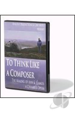 To Think Like A Composer DVD Cover Art